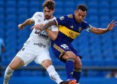 Boca visita a Santos por la Libertadores en la semana previa a un nuevo Superclásico
